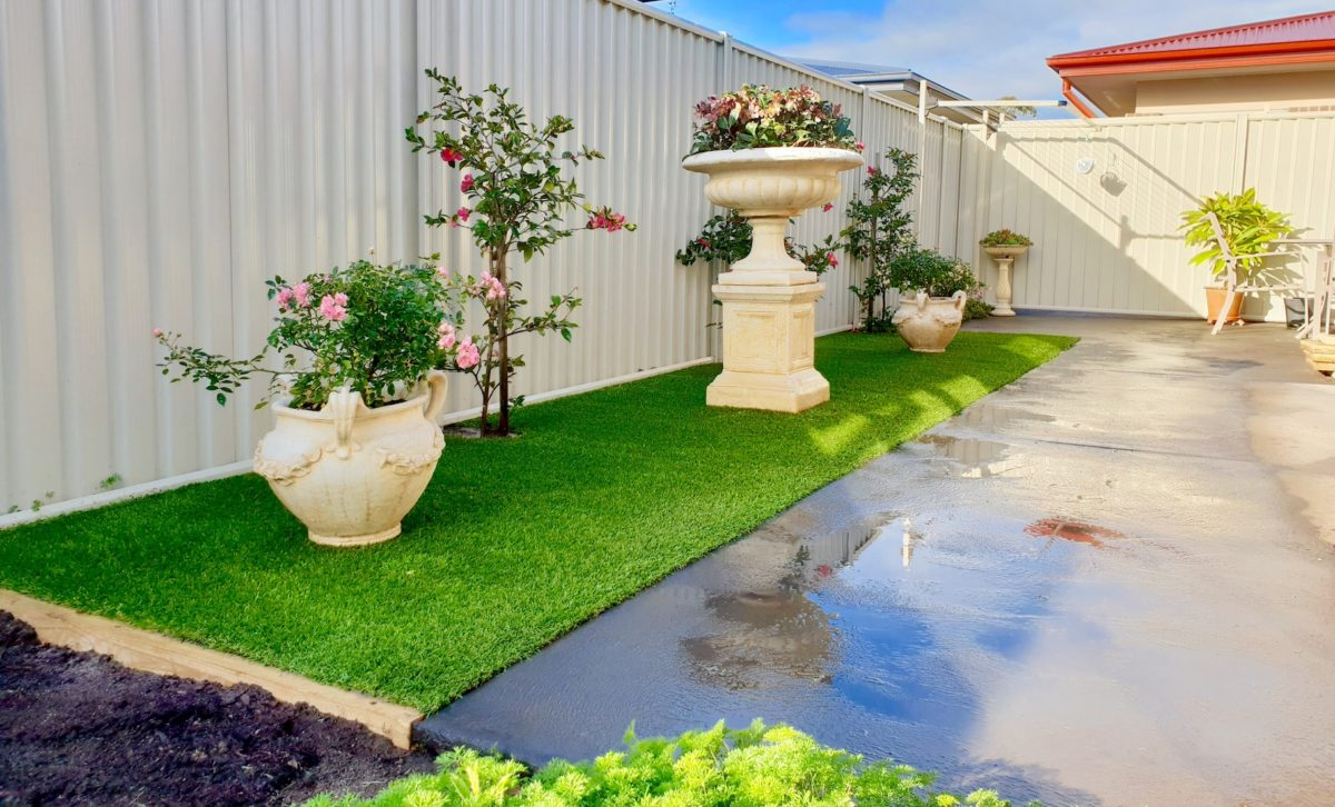 Geelong courtyard design